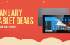 Deals: Gearbest January Tablet Deals