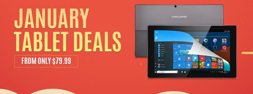 Deals: Gearbest January Tablet Deals