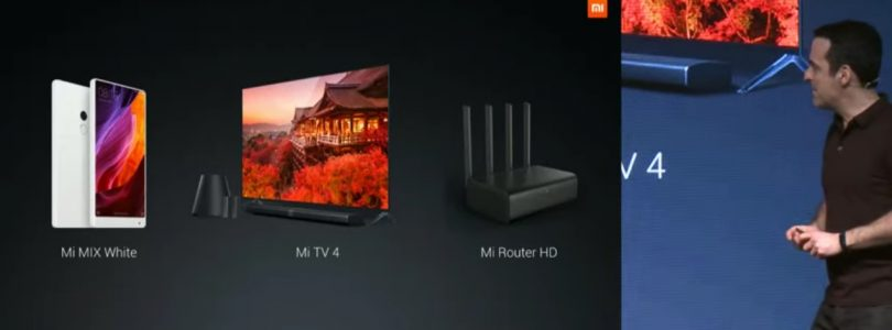 Xiaomi's Live Stream From CES 2017 – New Mi Product Launch