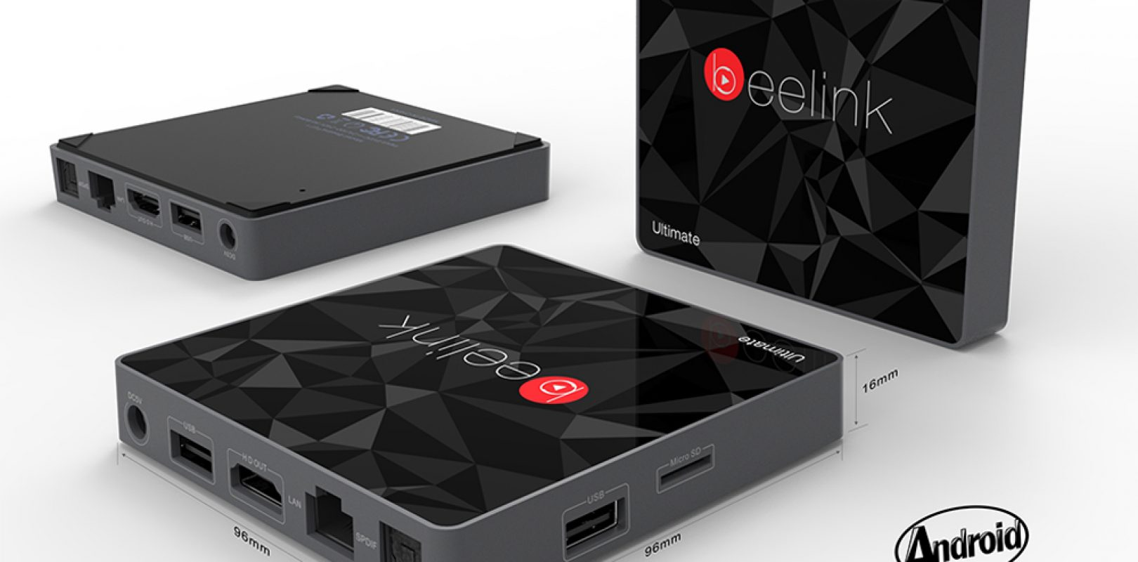 Beelink GT1 Ultimate - Amilogic S912 3GB RAM Mini PC - TechTablets