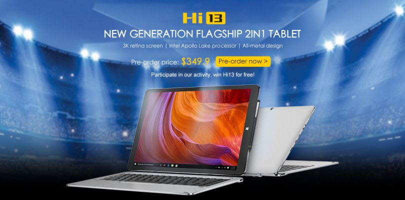 Chuwi Hi13 Giveaway & New Hi13 Promo Video