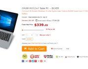 Chuwi Hi13 Finally Shipping From GearBest