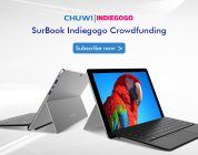 Chuwi SurBook Indiegogo Crowdfunding Now Live