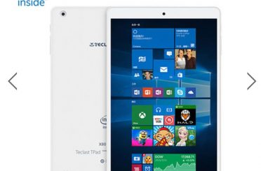 Deals: Dual Boot Windows & Android Atom Z8350 8-Inch Tablet $74.79
