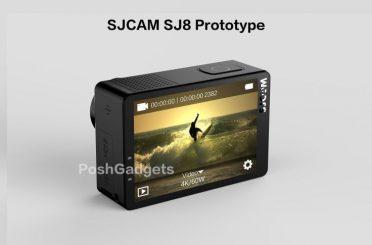 Leaked SJCAM SJ8 4k 60FPS Yi 4k+ Competitor?