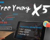 Deals: Cube Free Young X5 Snap Up $79.99  & EZBook 3 Pro $249