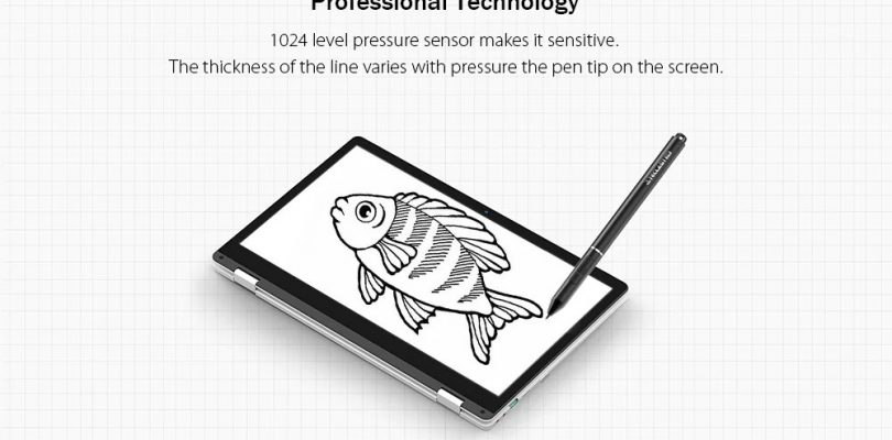 The Stylus For The Teclast F6 Pro Convertible Laptop