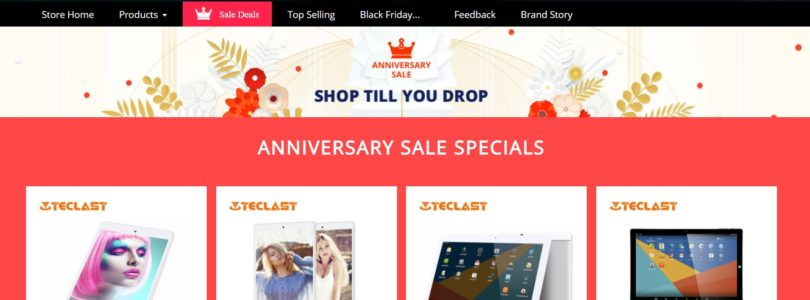 Deals: Teclast, Chuwi Brands Sale & AliExpress Anniversary Sale