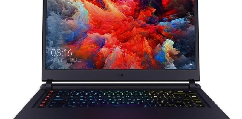 Xiaomi Mi Gaming Laptop Coming April 14th