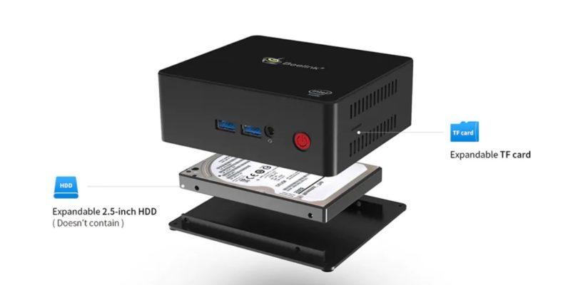 New Beelink Gemini Lake Mini PC's X55 And X45