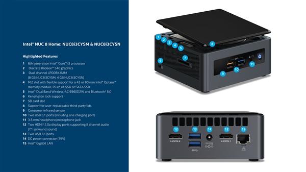 Intel NUC Home 8
