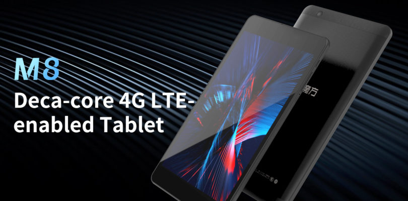 ALLDOCUBE M8 – Dual SIM 4G 8-Inch Tablet Coming Soon