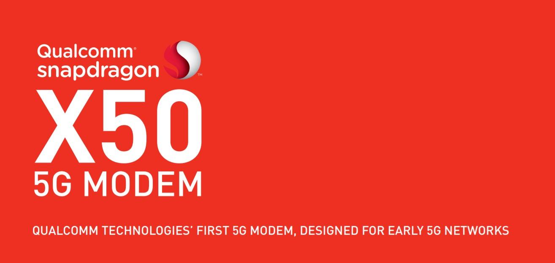 qualcomm Snapdragon X50 5g modem