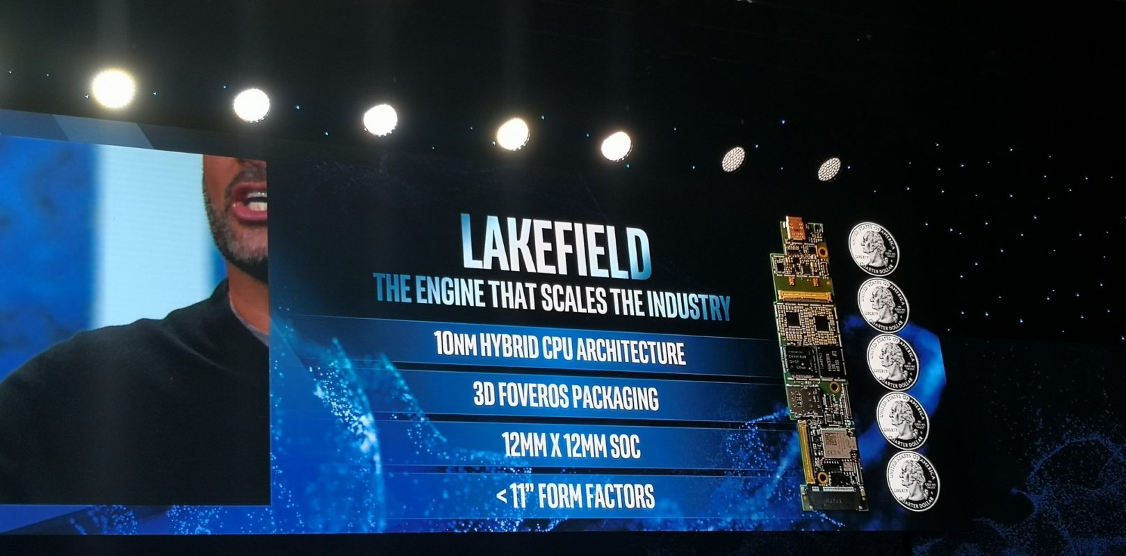 Intel Lakefield Announced: The First 3D Stacked CPU, with