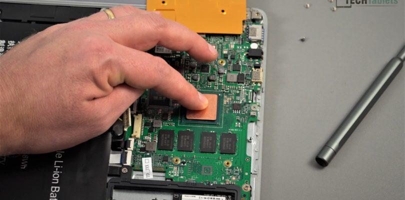 Teclast F7 Plus Copper Heatsink Mod. A Must If You Want to Tweak Power Limits