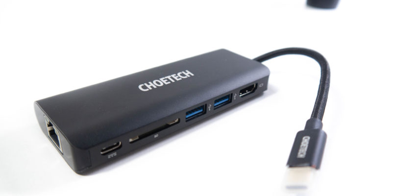 CHOETECH USB Type-C Multiport Adapter 6-in-1