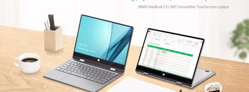 BMAX Y11 $289 Gemini Lake 360-Degree 11.6″ Laptop
