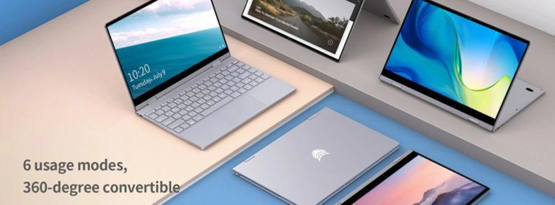 BMAX Y13 – Gemini Lake 8GB RAM, 13.3″ Yoga Style Laptop