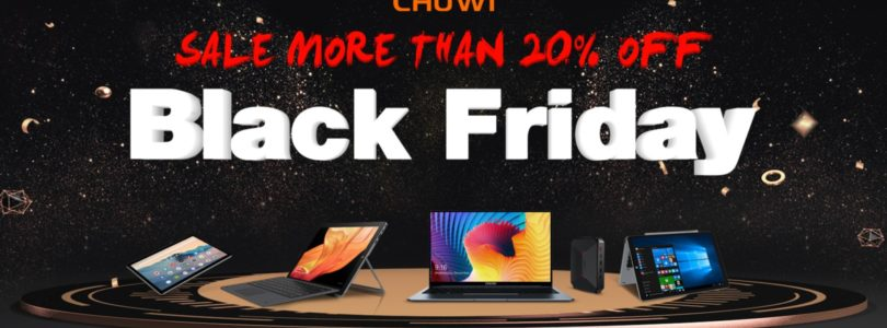 Chuwi's Black Friday 20% Off & Giveaway