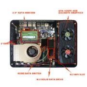 Intel 9th Gen CPUs + Nvidia GTX 1650 Upgradable Mini PC